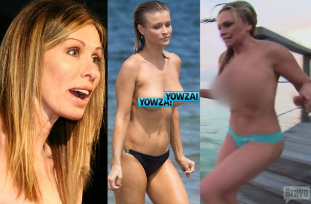Girls Gone Wild 7 Shocking Times Realhousewives Have Been Caught Naked Https