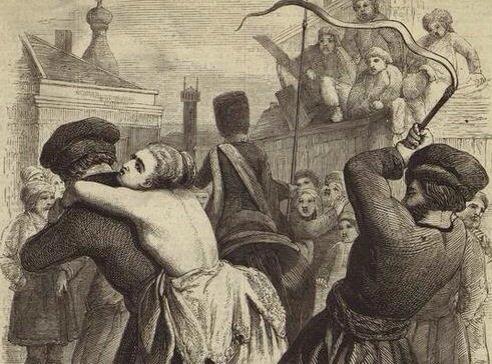 Порно казни и пытки вдревней руси