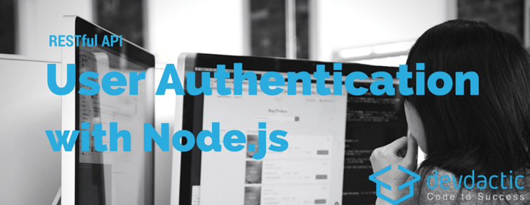 RESTful API User Authentication with and AngularJS – Part 1/2: Server