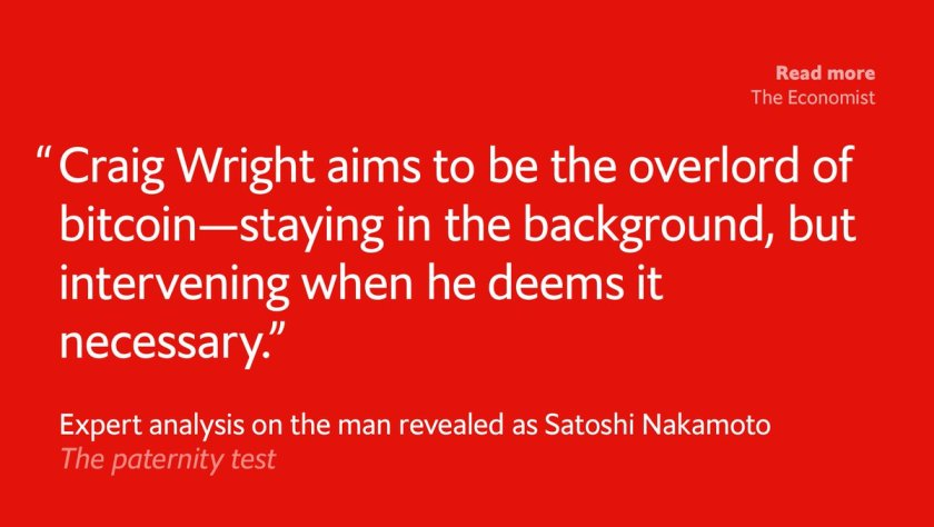 Our technology editor @econoscribe put Craig Wright to the test. Here's the story