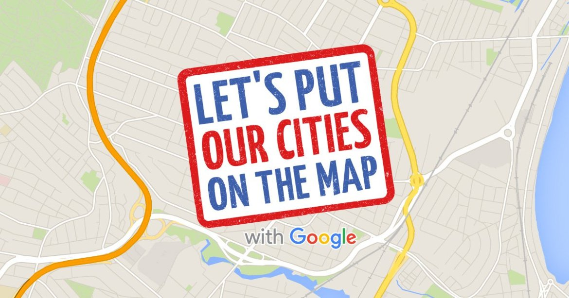It's #SmallBizWeek! Visit @Google's Let's Put Our Cities on the Map site, made w @AngularJS