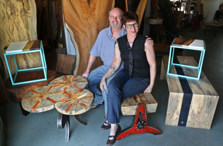See how St. Pete's @Funktionhouse turns downed trees into furniture & art  @TB_Times @Knothea