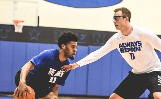Duke Basketball On Twitter Competitive 3 On 3 Game Going