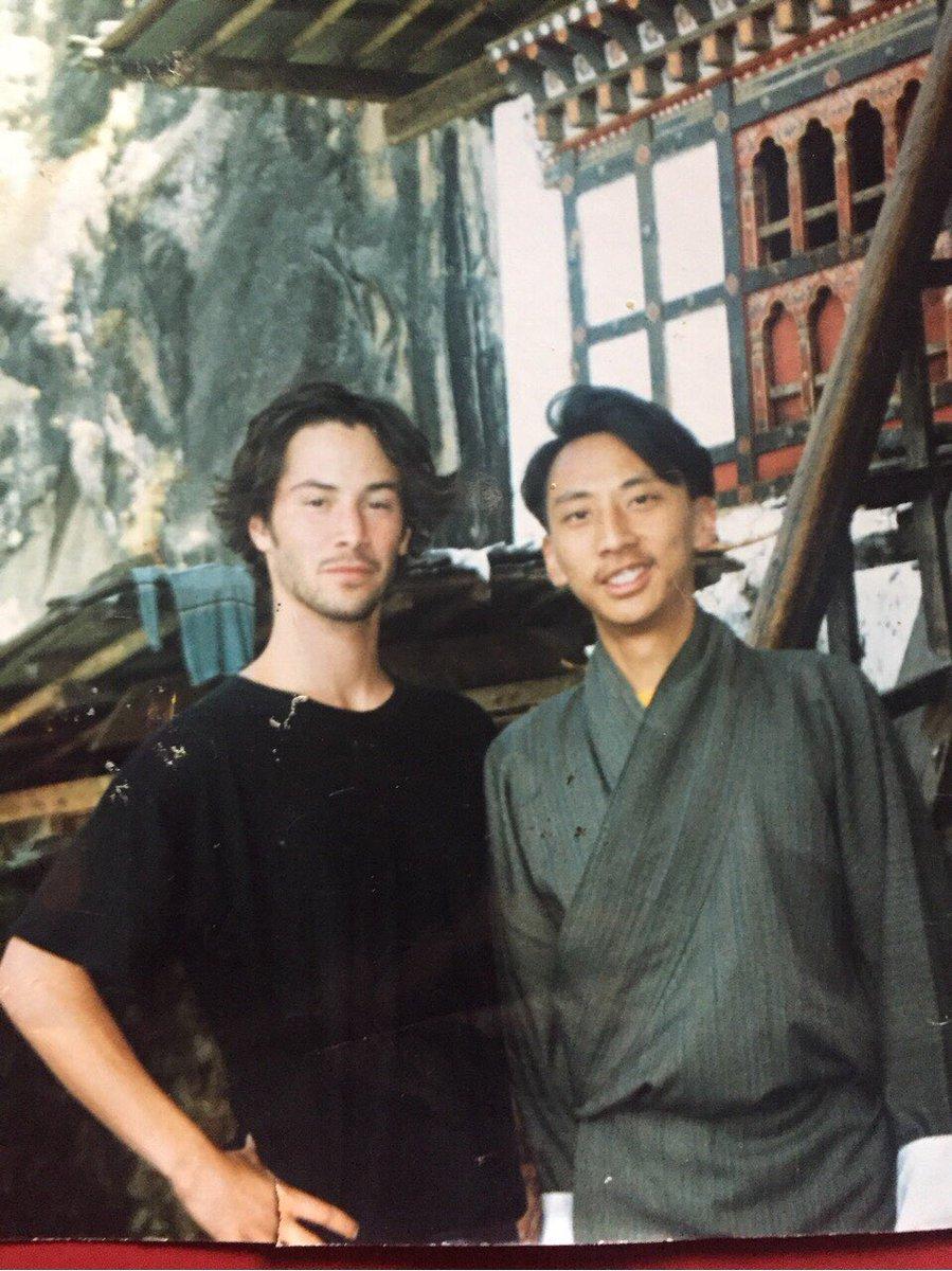 Keanu Reeves tại Tiger's Nest năm 1992