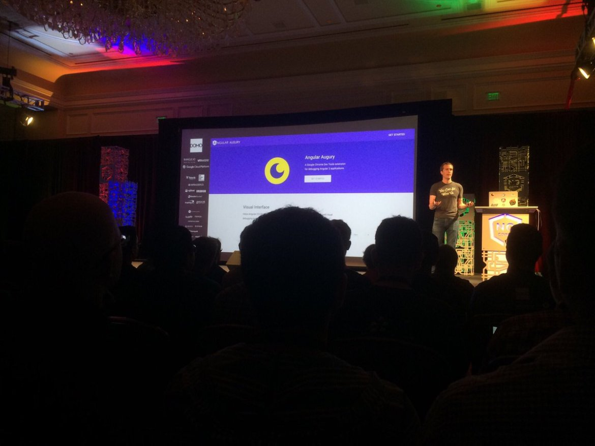 Get  for #angular2 built in collaboation with @rangleio @angularjs - Just launched at #ngConf