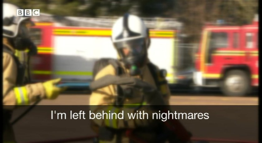 Firefighter with post traumatic stress disorder helps mental health scheme  #PTSD