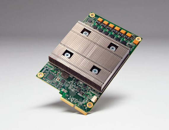 Google built its own chips to expedite its machine learning algorithms