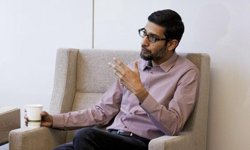 Google CEO Sundar Pichai is leading the charge to put artificial intelligence everywhere