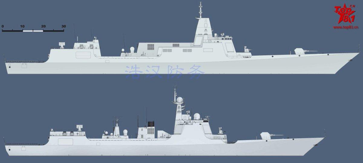055型と052D型駆逐艦の比較 | Scoopnest
