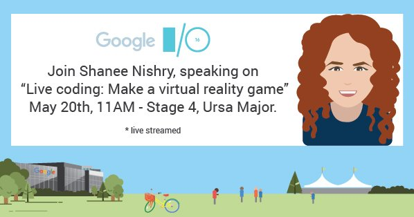 Game devs - join @googlevr to code a #virtualreality game *live* at #io16 11AM. Livestream: