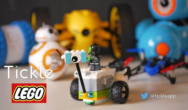 "Tickle Twitter "" #lego Wedo 2.0 Joining"
