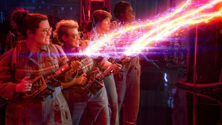 You can blast ghosts at the new #Ghostbusters virtual reality experience in New York