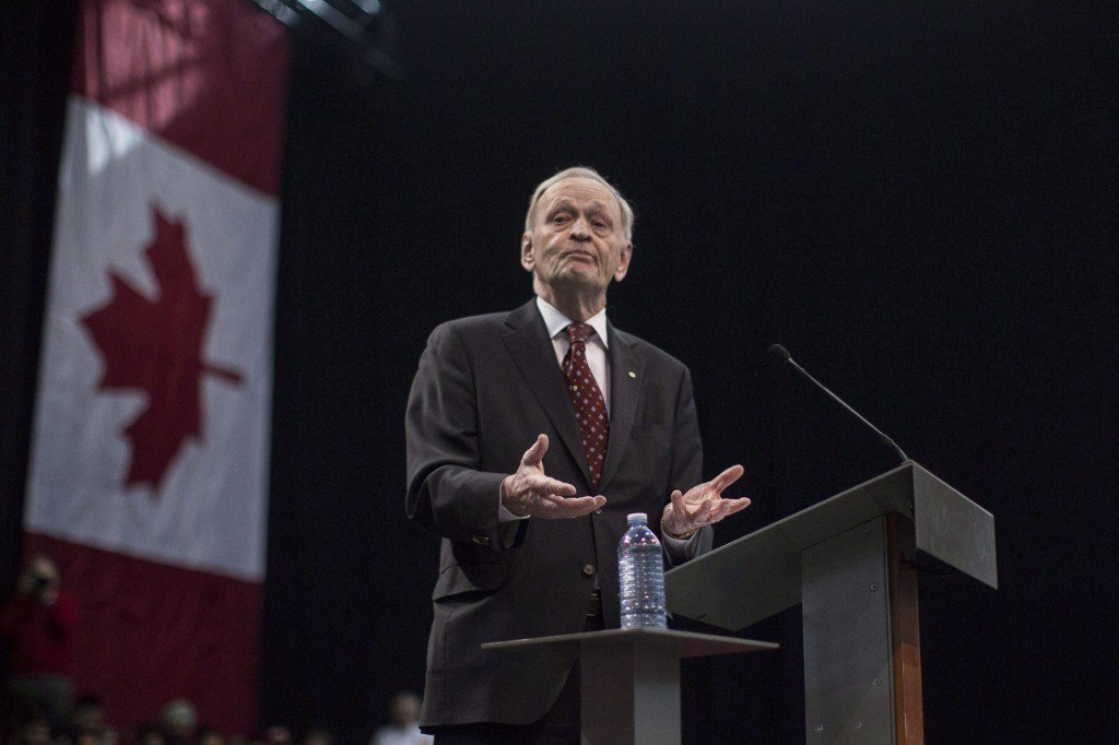 On marijuana, former PM Jean Chretien says politicians must adjust to times