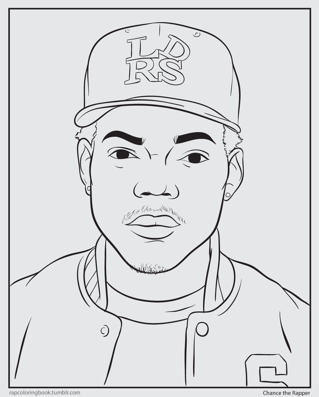 Coloring book download link chance the rapper -  Book Shea Serrano On Twitter I Made An Actual Chance The Rapper Coloring Page And You Can