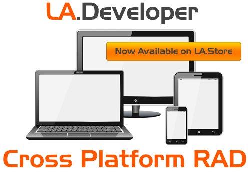 #LADeveloper - Cross Platform RAD -  - #appdev #gamedev #native #cloud #iot #android