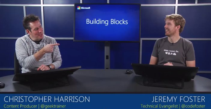 Curious about #IoT? Start coding apps using #VisualStudio w/ @GeekTrainer & @CodeFoster: