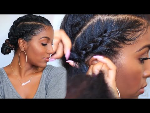 Natural Hair Summit On Twitter How To Cornrow Braid With Double