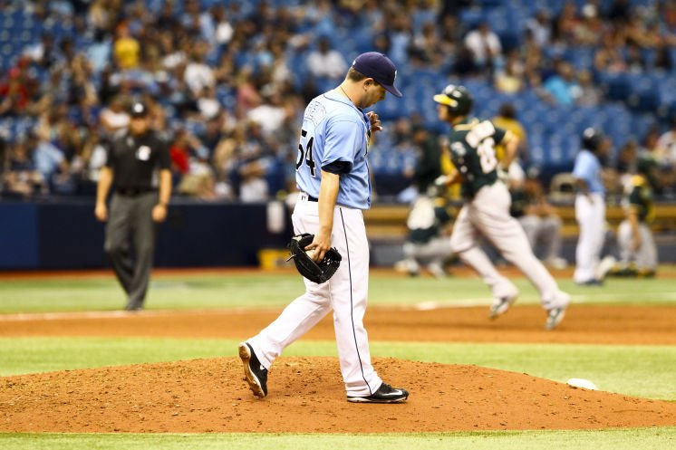 #Rays squander late lead in loss to Oakland  #TBRays #GoRays