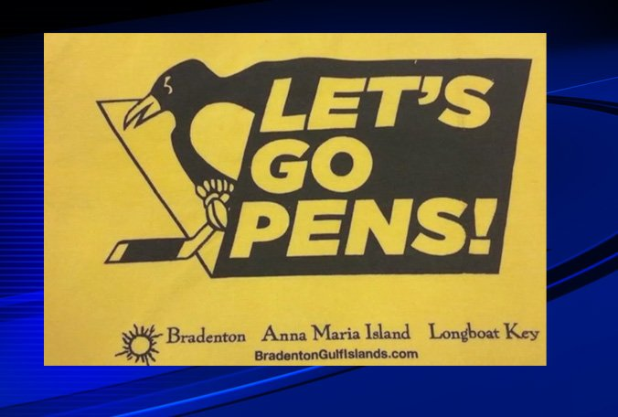Lightning fans angry over Bradenton sponsored Penguins towels passed out at viewing party
