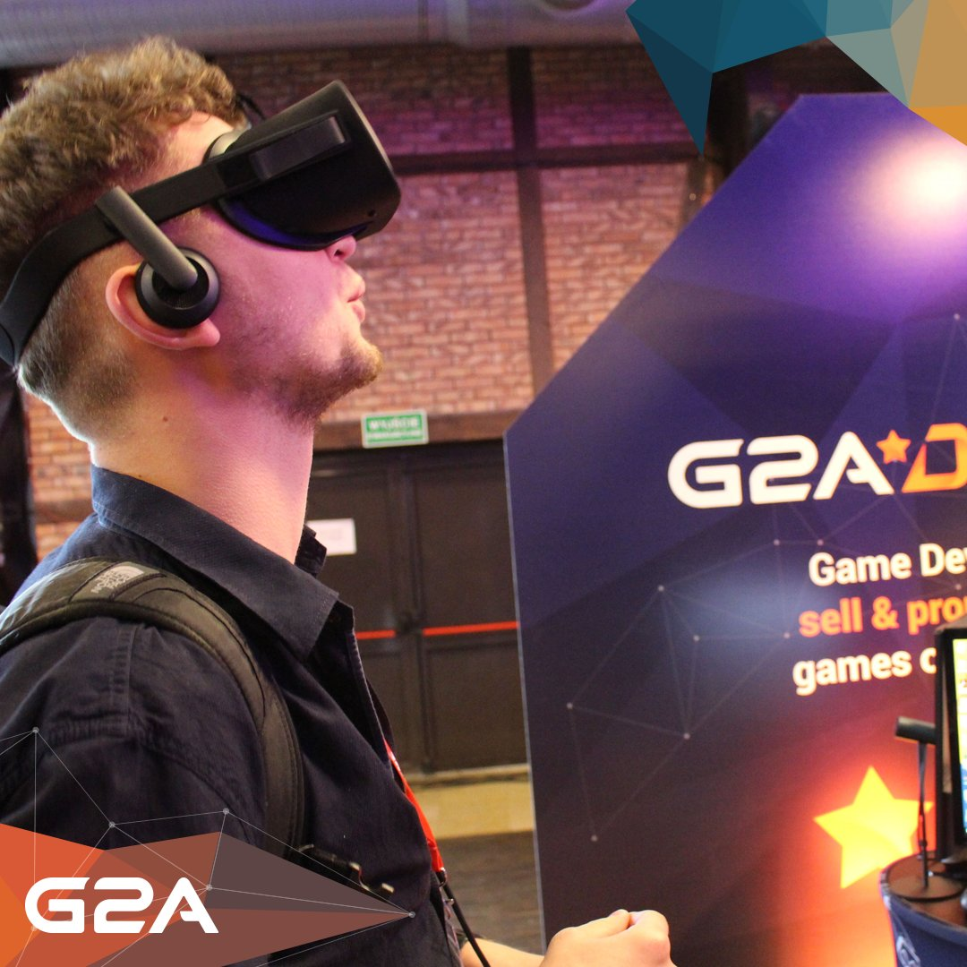 G2A at #DigitalDragons! Come to Booth 23 to experience #VR for yourself! #G2Aontour 📷