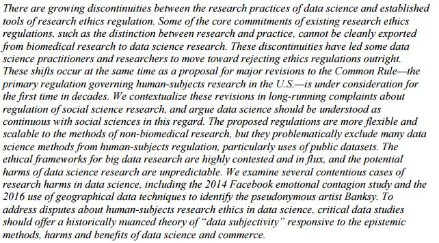 New re #bigdata: