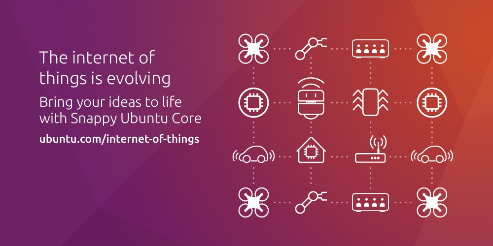 Be a part of revolutionising aspects of our everyday lives through #Ubuntu Core #IoT
