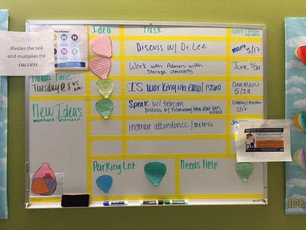 "Employee Ideas Twitter ""pediatric Admins Idea Huddle"