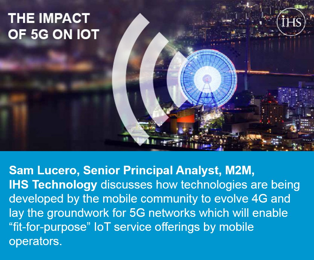 Optimizing Cellular Networks for the Multi-Billion Dollar #IoT Market; Free webinar playback