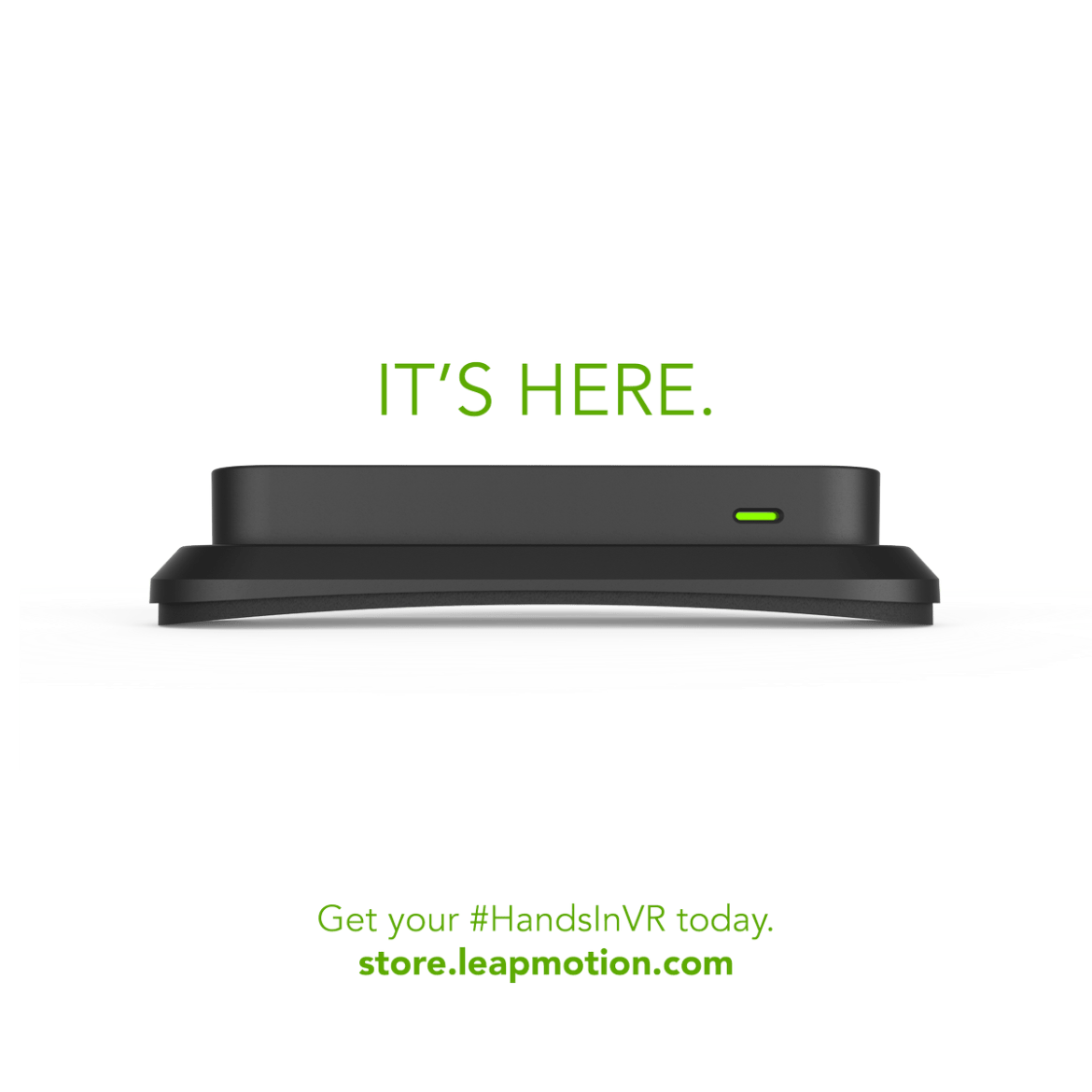 It's here! Bring your hands into #VR with the Universal VR Developer Mount, shipping now