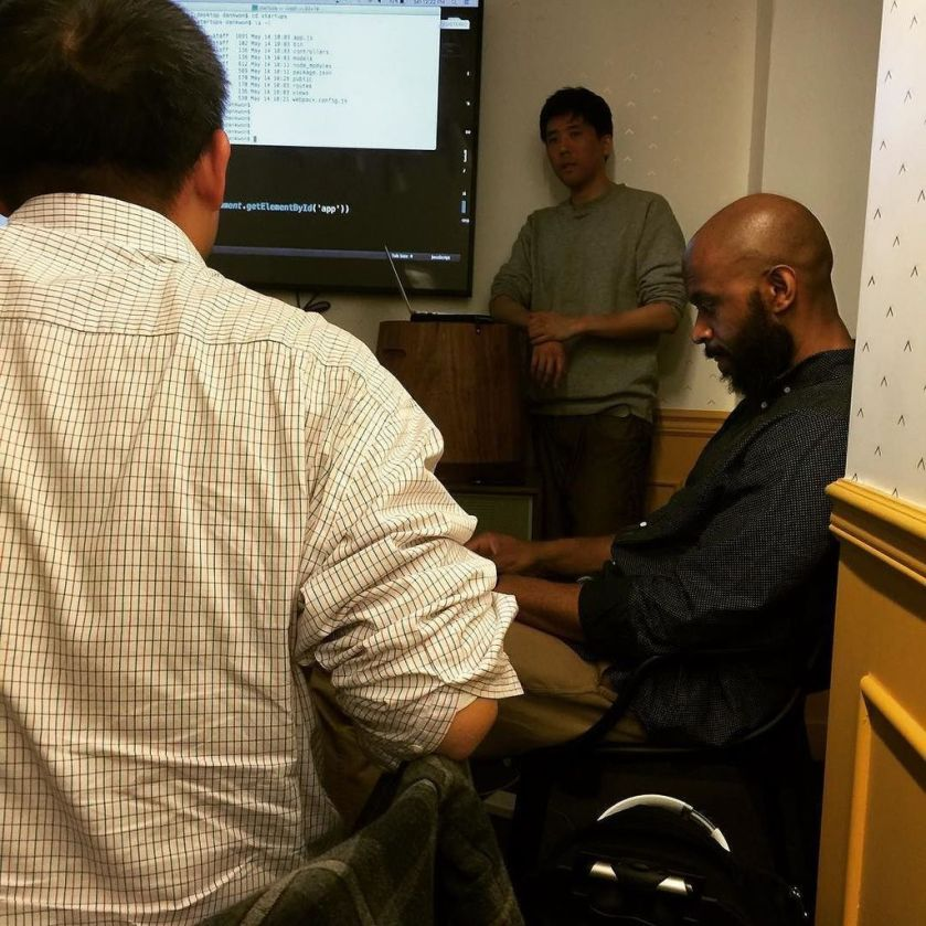 Head down with ReactJS #velocity360 #codingbootcamp #programmers
