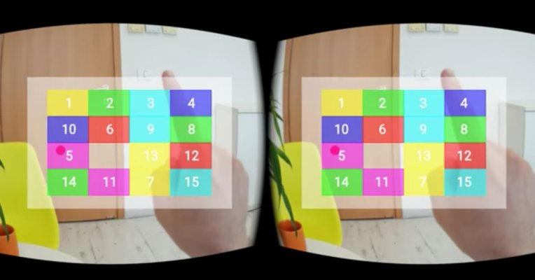 EyeSight demos #VR gesture control using standard phone hardware |…
