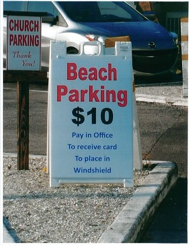 St. Pete Beach orders Pass-a-Grille church to stop charging for beach parking: