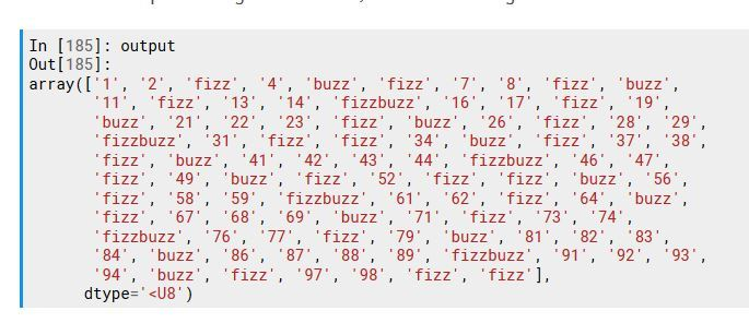 Really, really deep #DeepLearning #Humor: Fizz Buzz in #Tensorflow (mostly works)