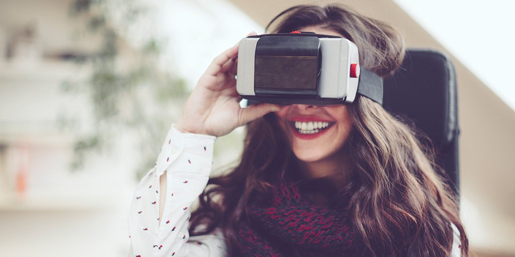 Some call #VirtualReality the next big platform, here are examples of businesses using it: