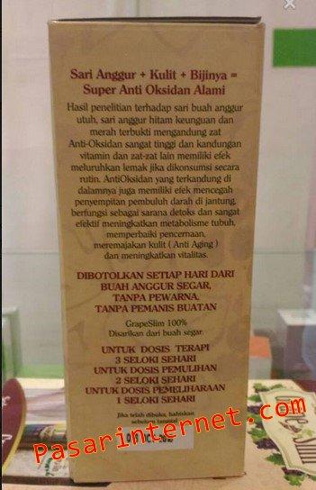 Produk Organik GrapeSlim