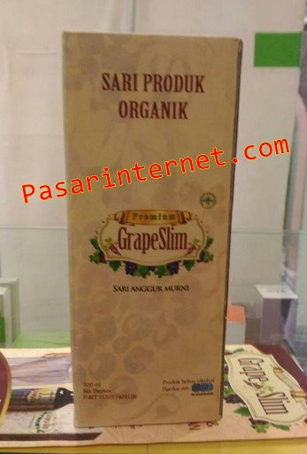 Sari Produk Organik Grape slim