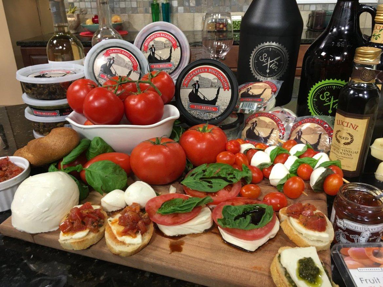 Cheese & Entertaining for Memorial Day - Mozzarella @SixTenBrewing Nice Start!