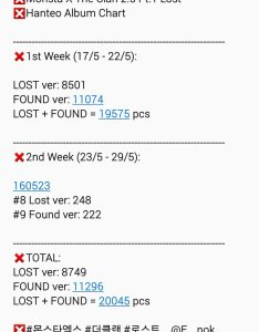 nok on twitter hanteo album chart monsta  the clan pt lost ver found total pcs  also rh