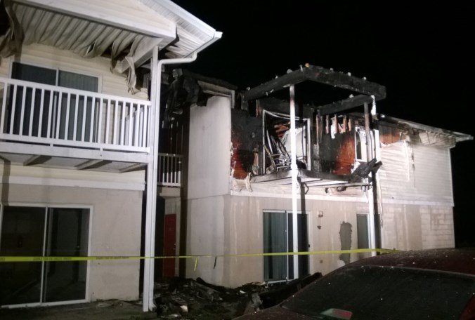 2 adults, 2 children treated for smoke inhalation overnight in apartment fire in Lake Wales.