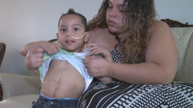 5-organ transplant boy visits 10News