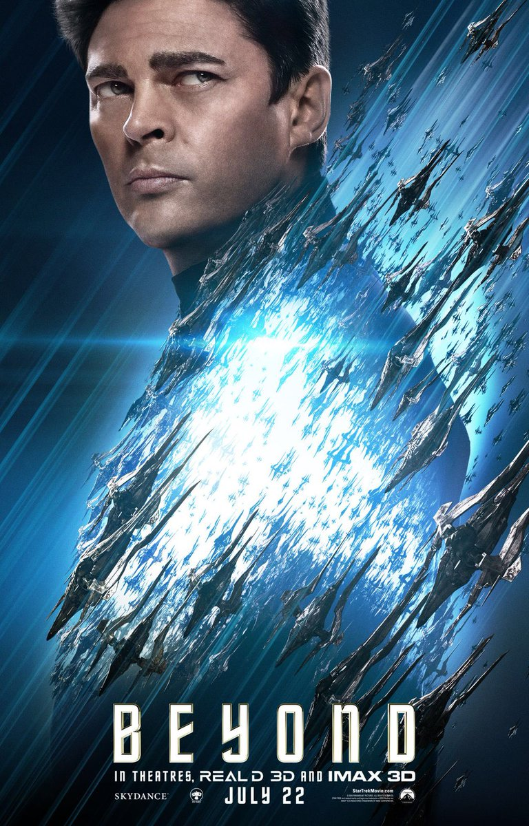 Star Trek Beyond Character Posters Revealed 9