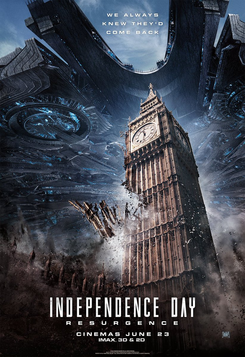 New Independence Day: Resurgence Posters Revealed 4