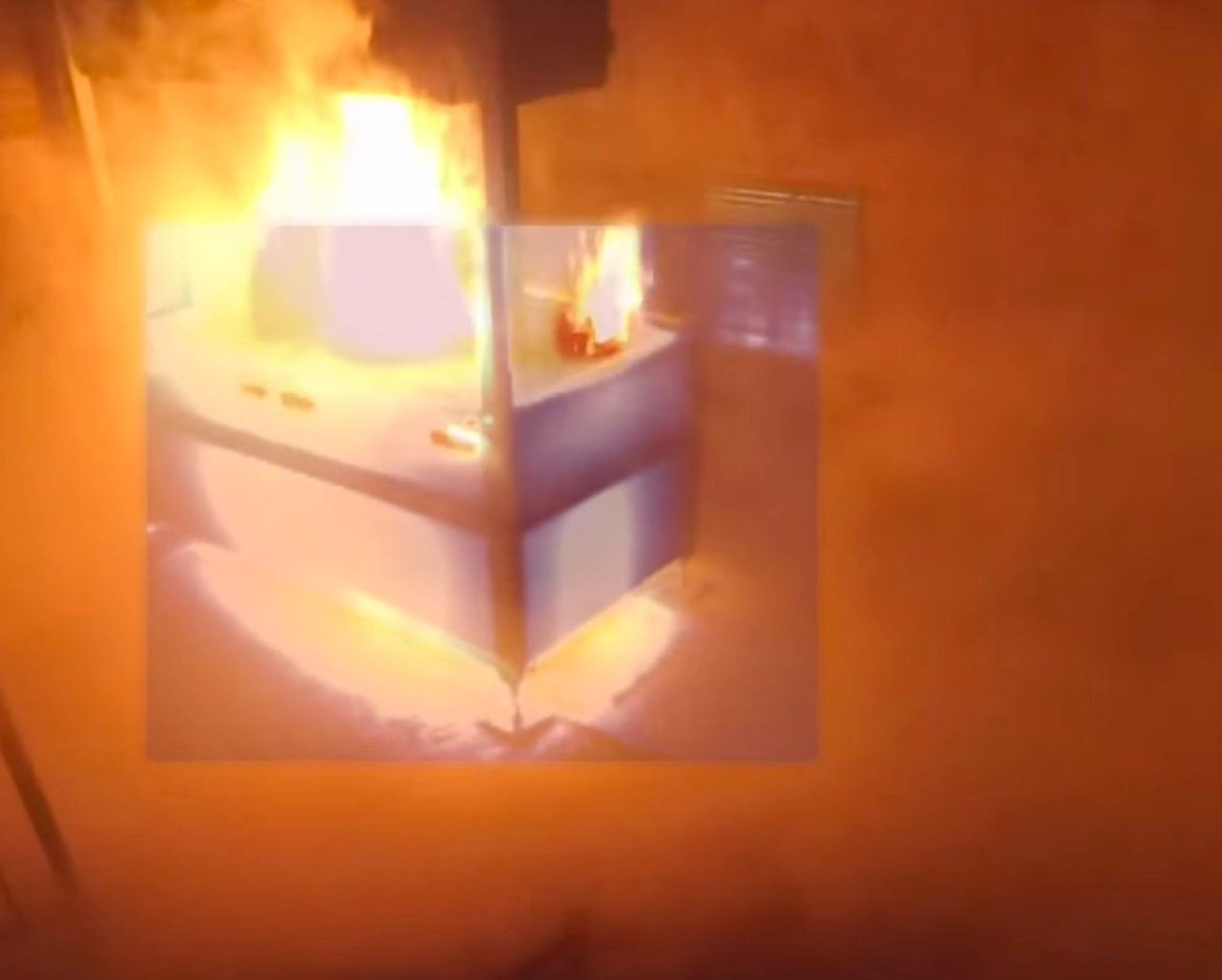 Augmented reality visor lets firefighters see through the smoke