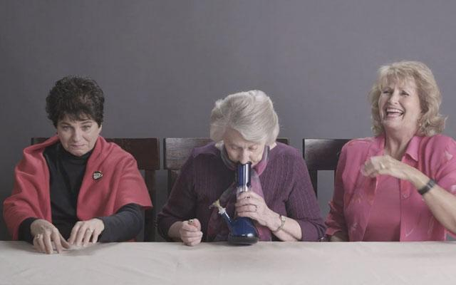 An Oldie But A Goodie!  #WATCH: Grandmas Smoke Weed For The First Time