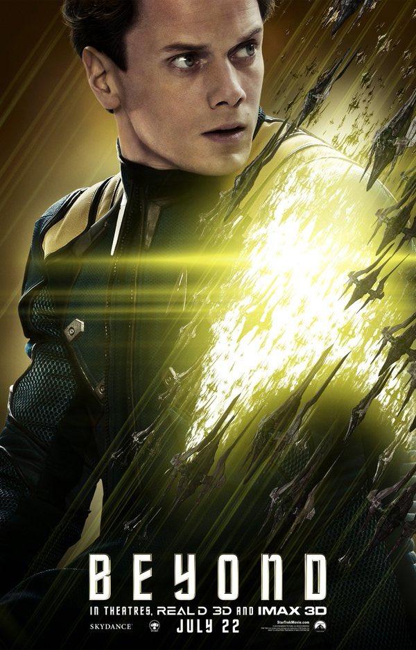 Star Trek Beyond Character Posters Revealed 6