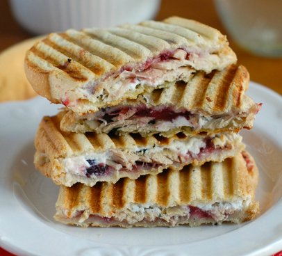 For try this Turkey, Cranberry, & Pesto Panini!