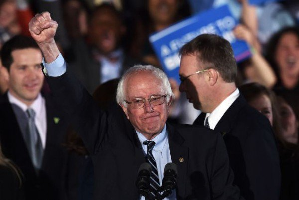 #Sanders is convinced he'll pull off 'one of the biggest political upsets in US history.'