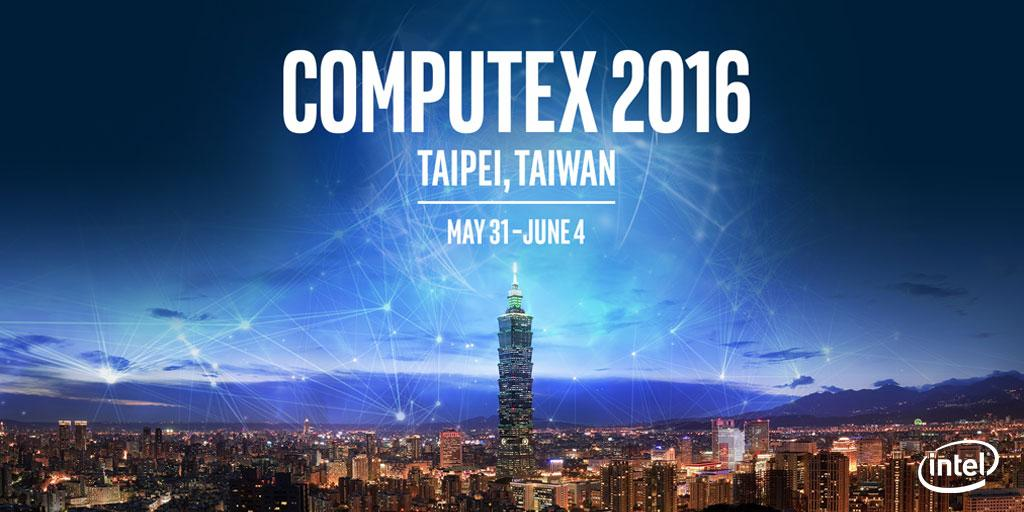 3 days till we bring you the latest in #IoT & #Cloud tech in #Computex2016.  #intel