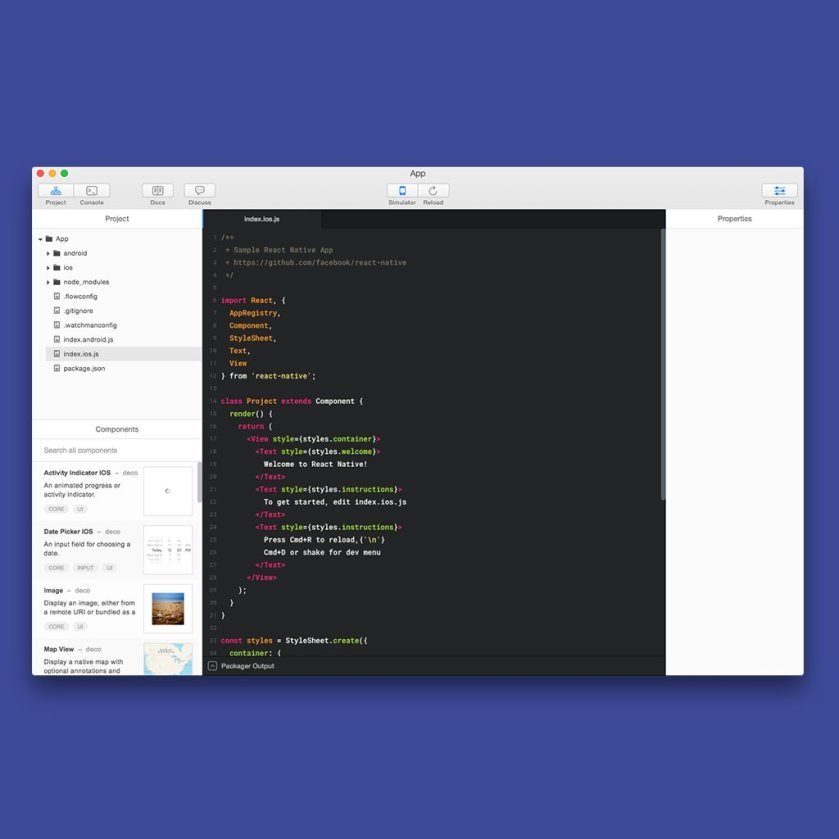 Deco: IDE for building React Native apps is now free to download  #design