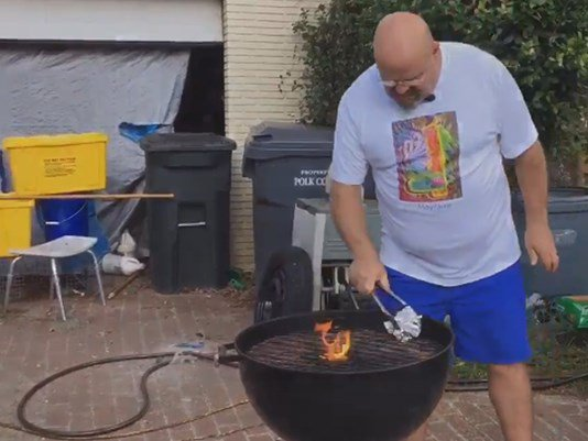 Grill brush bristle lodges in Lakeland man's stomach  @KendraWTSP explains the dangers: